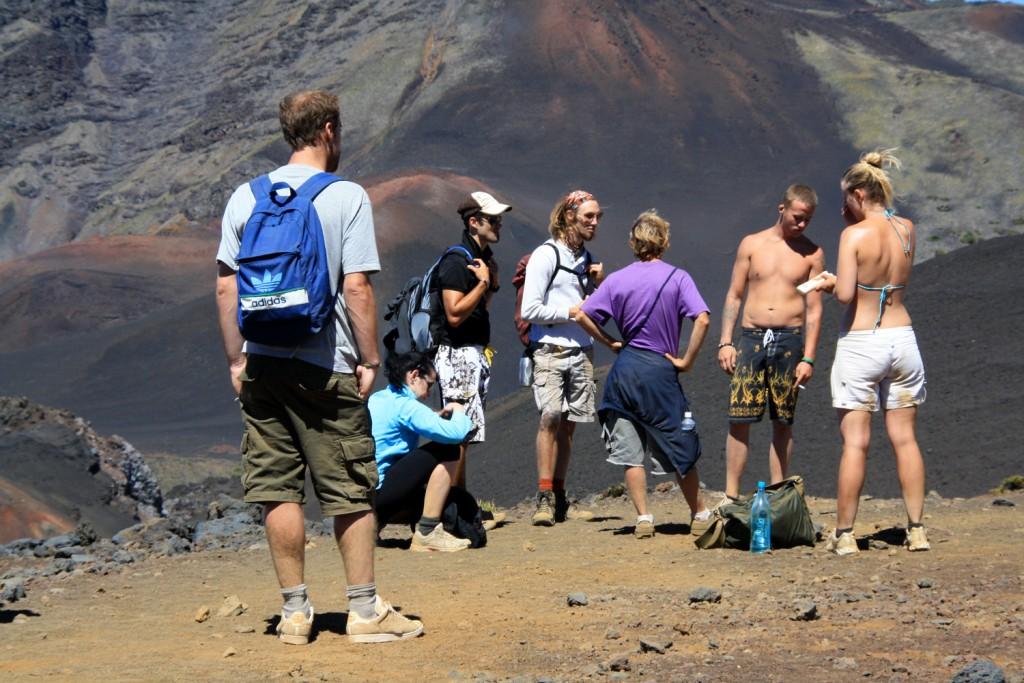 Haleakala-Krater Maui