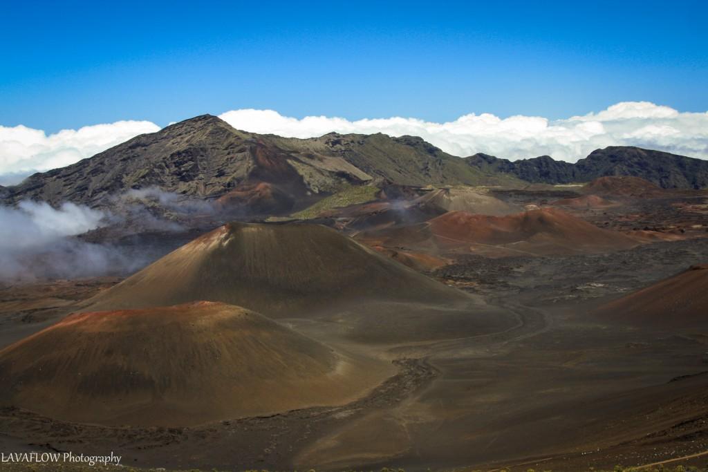 Mondlandschaft Haleakala-Krater