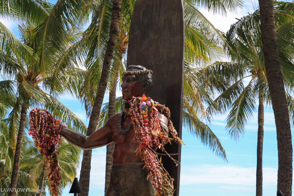 Duke-Statue Waikiki Beach