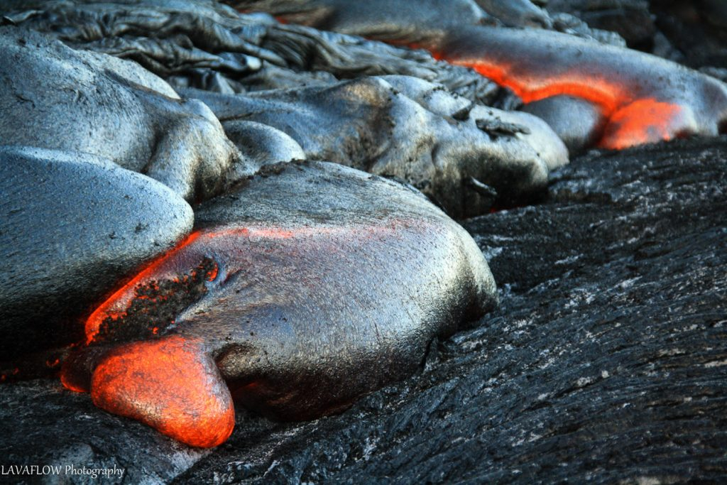 Lava in Kalapana, Big Island