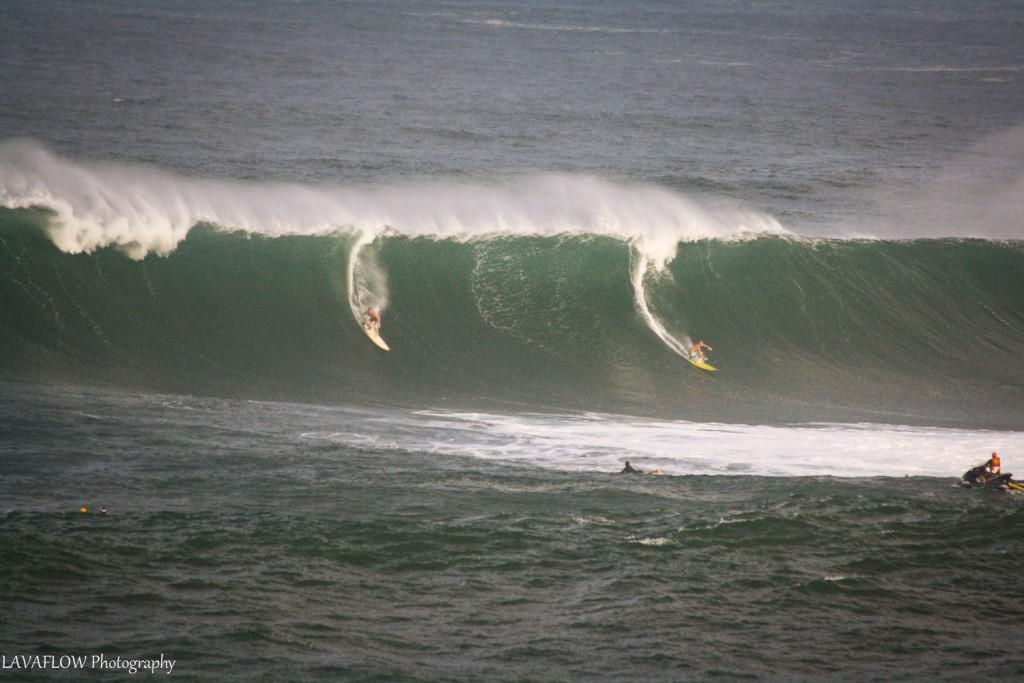 High Surf Waimea Bay