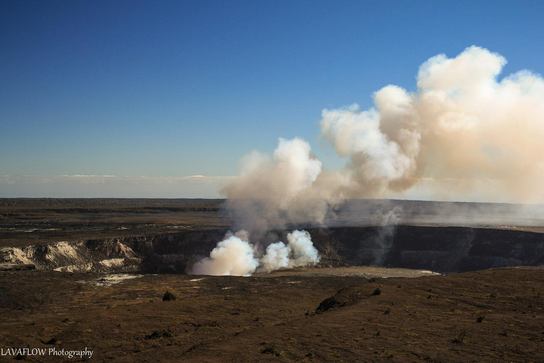 Feuer auf Big Island