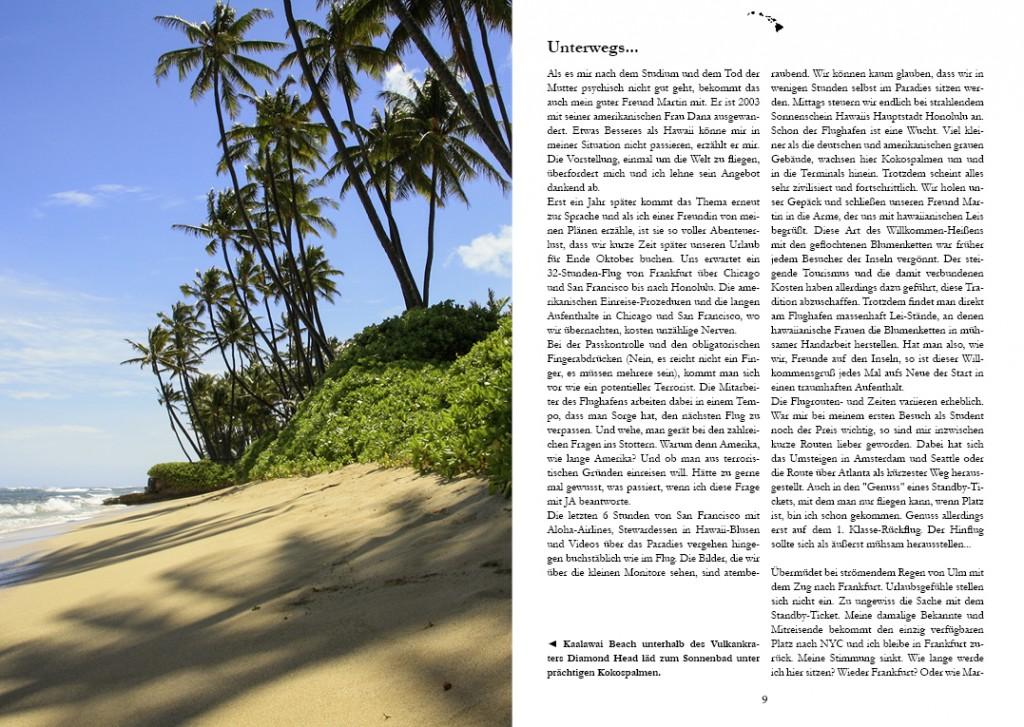 Hawaii-Buch Leseprobe