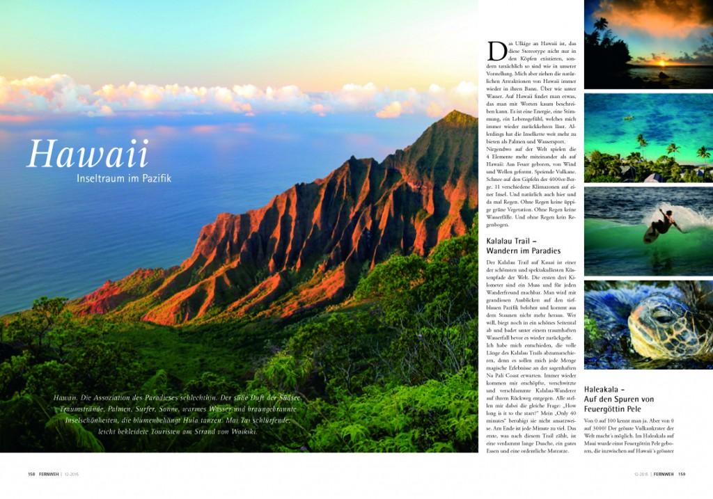Hawaii-Artikel Fernweh 1