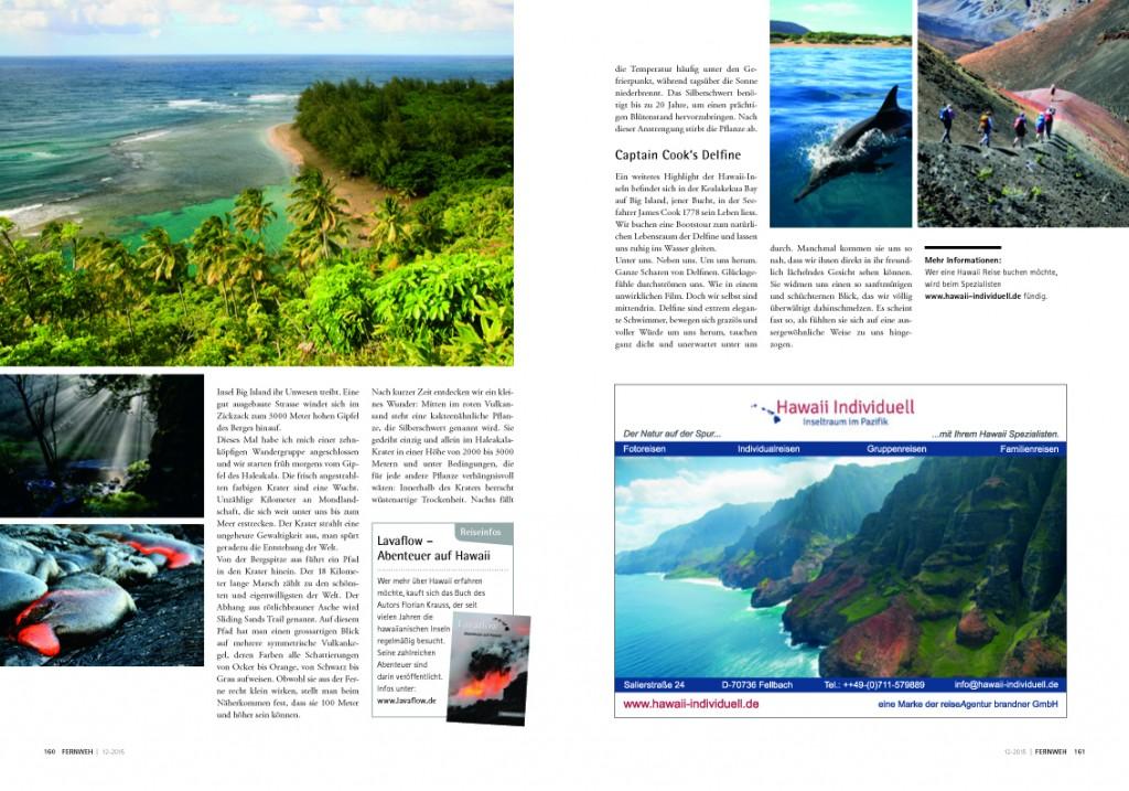 Hawaii-Artikel Fernweh 2