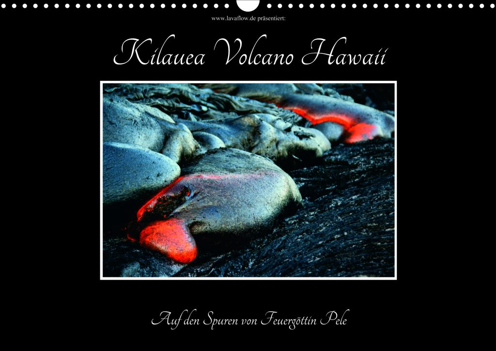 Vulkan-Kalender Hawaii