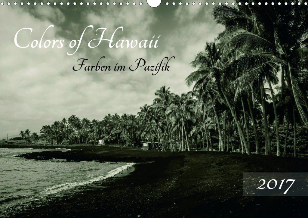 Hawaii-Kalender-Titel
