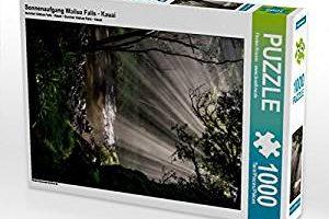 """Hawaii-Puzzle """"Sunrise Wailua Falls"""""""