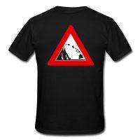 "Lavaflow-Shirt ""Inselkette"" - Rückseite"
